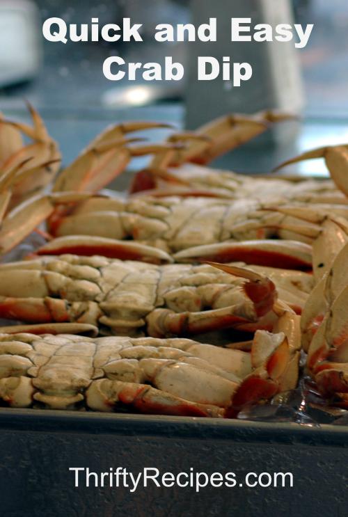 quick easy crab dip