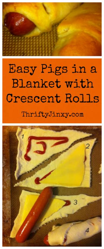 Pigs Blanket Crescent Rolls
