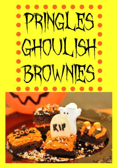 Pringles Ghoulish Brownies