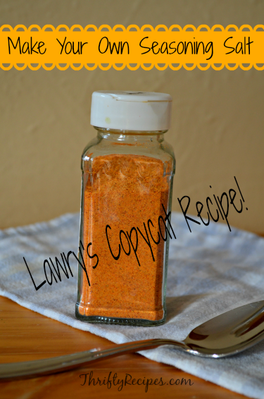 Lawry's Copycat Recipe – Make Your Own Seasoning Salt