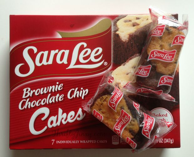 Sara Lee Brownie Chocolate Chip Cakes