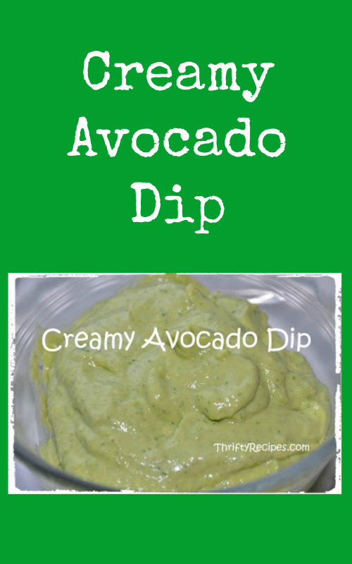 This cool and creamy avocado dip recipe is perfect in a dish for dunking tortilla chips or veggies.  It's also delicious with quesadillas, spicy chicken or any other Tex-Mex inspired creation.