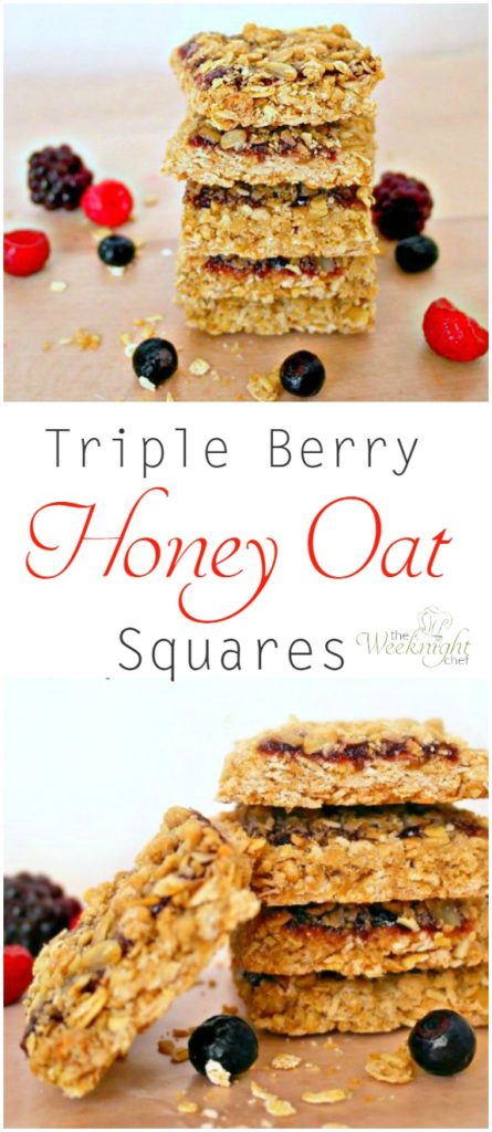 triple berry honey oat pin