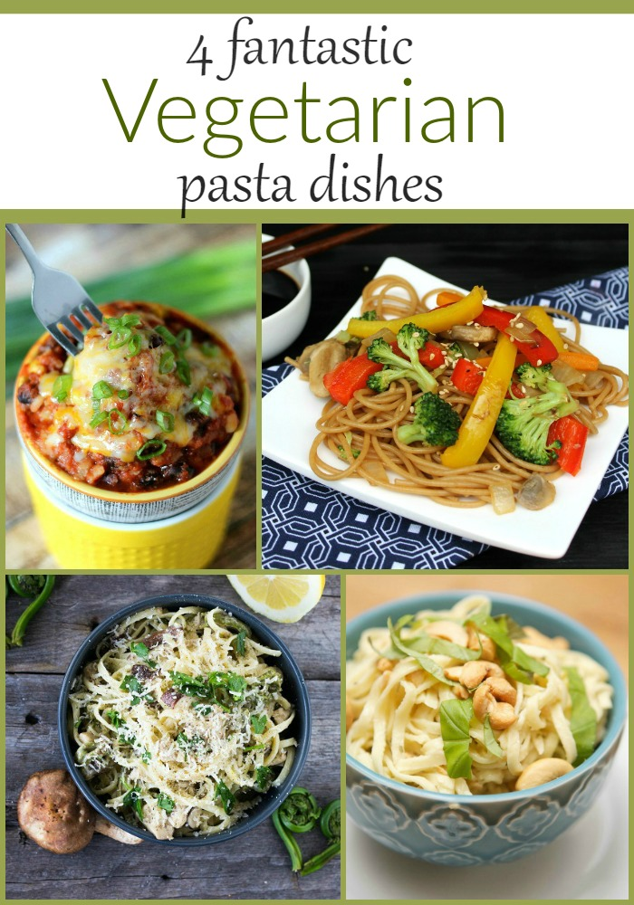 vegetarian pasta dishes