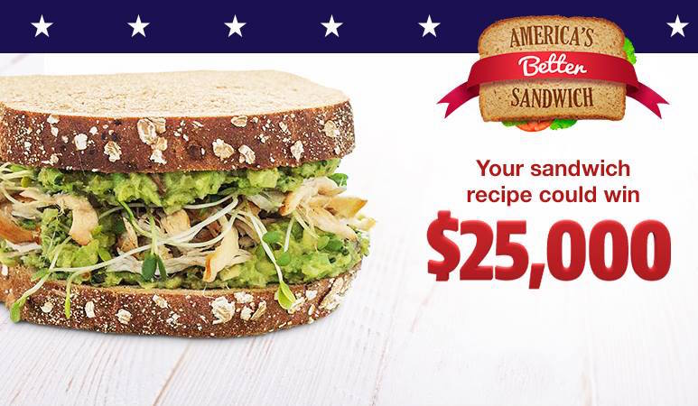 Brownberry Americas Better Sandwich Sweepstakes
