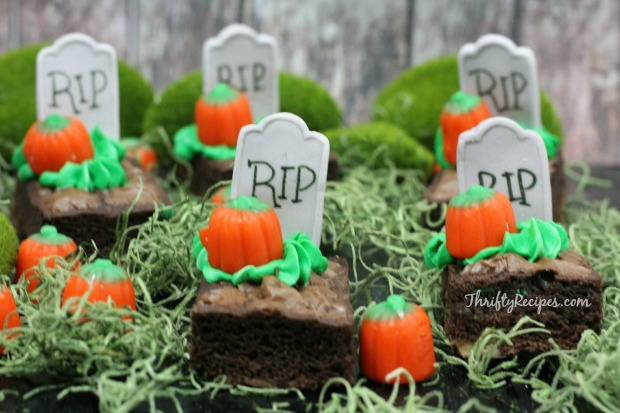 Halloween Graveyard Brownies Recipe